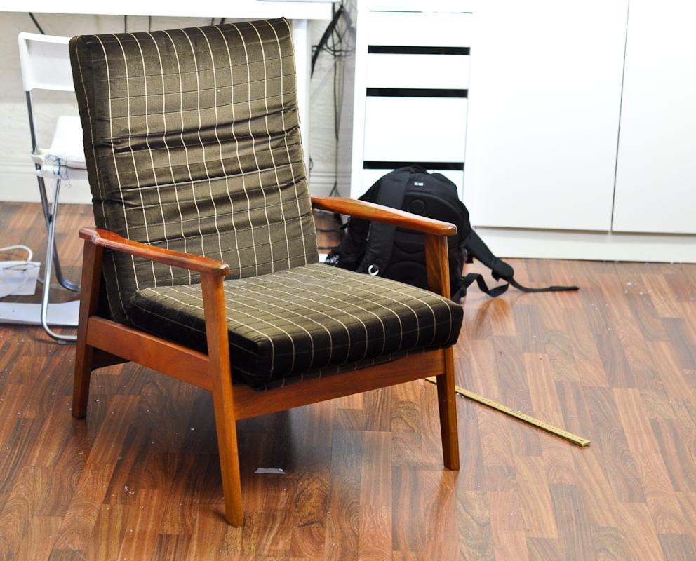 A damn ugly chair
