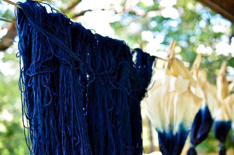 Bind | Fold Indigo Dyeing Workshops Melbourne