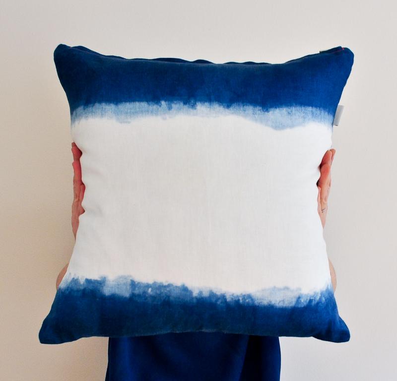 Bind | Fold Linen Cushion