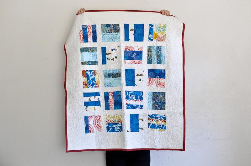 First quilt Bind | Fold