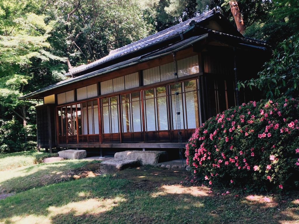 Bind | Fold Japanese Textile Tour 2015 - Kakuun - Tei (tea house) near Meiji Shrine, Tokyo