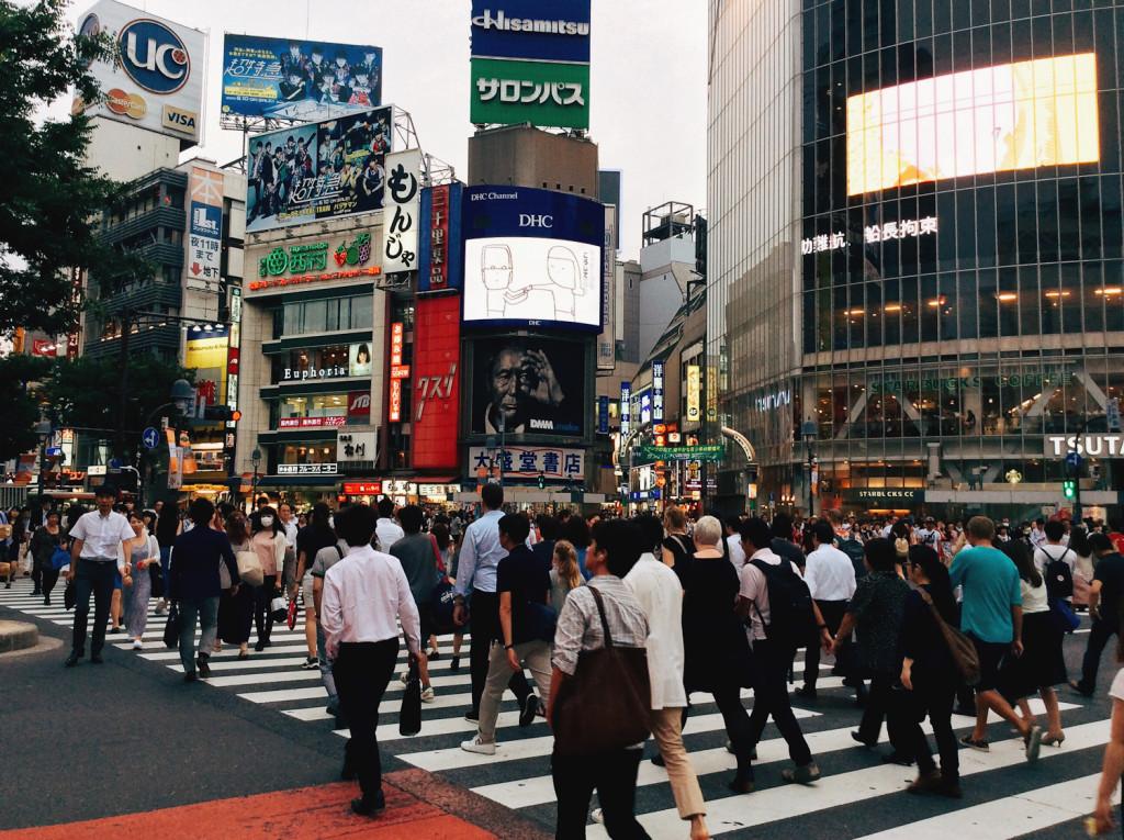Bind | Fold Japanese Textile Tour 2015 - Shibuya Crossing, Tokyo
