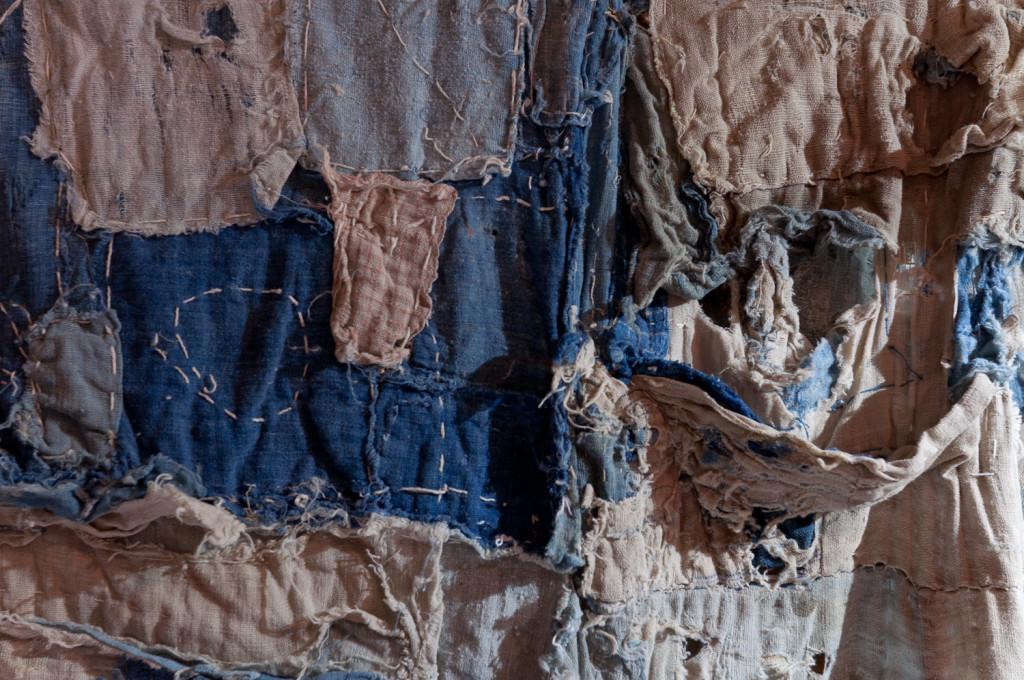 Bind | Fold Japanese Textile Tour 2015 - Boro stitching detail