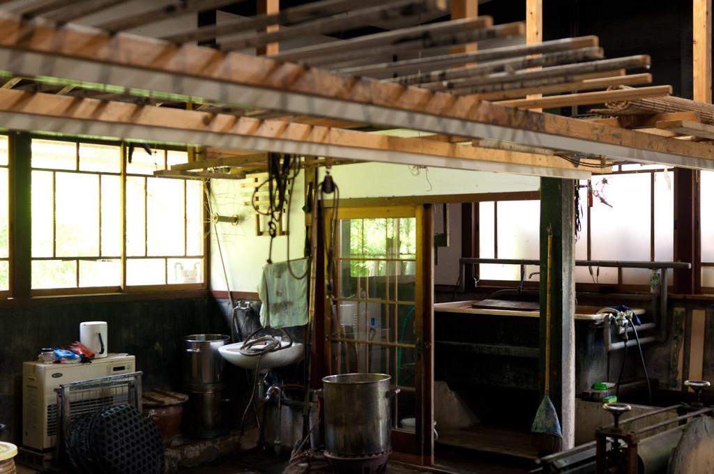 Bind | Fold Japanese Textile Tour 2015 - Hiroyuki Shindo's studio